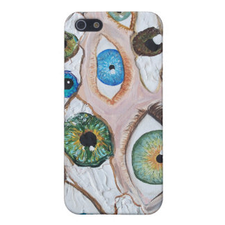 eyes painting original art case for the iPhone 5