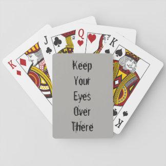 Eyes Playing Cards