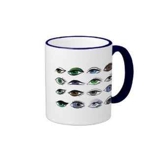 eyes ringer mug