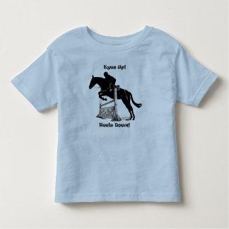 Eyes Up! Heels Down! Horse Jumper Tee Shirt
