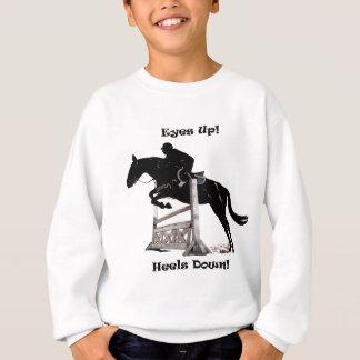 Eyes Up! Heels Down! Horse Sweatshirt