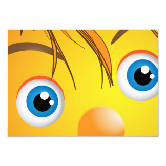 Eyes , wall poster for kids photo