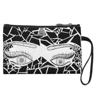 eyes wristlet purses