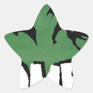 EYES ZOMBIE Zᴏᴍʙɪ Zᴜᴍʙɪ  Spirit  Halloween Star Sticker