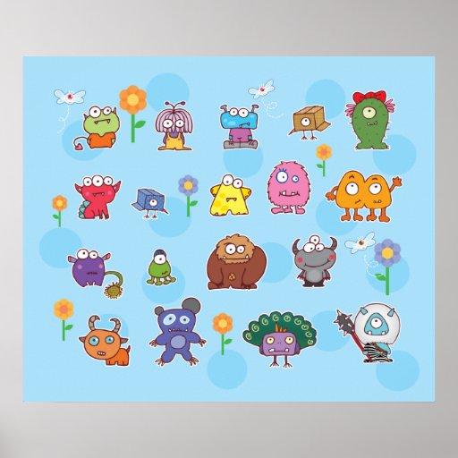 eyesore monsters group poster