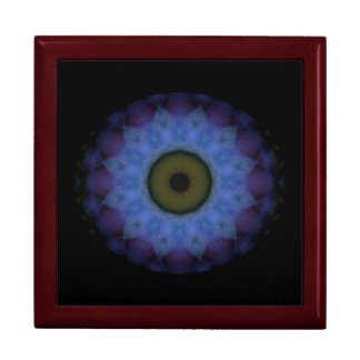 Eyesore Violet Blue Evil Eye Mandala Gift Box