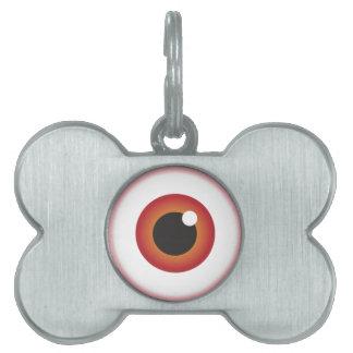 Eyetest Pet Name Tag