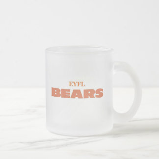 EYFL merchandise Frosted Glass Mug