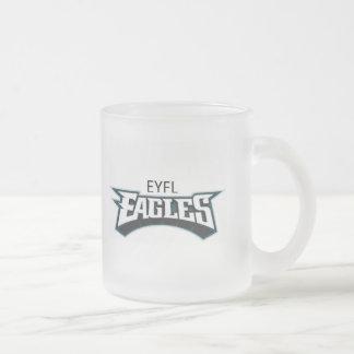 EYFL merchandise Frosted Glass Mug