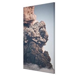Eyjafjalljokull Volcanic Eruption Canvas Print