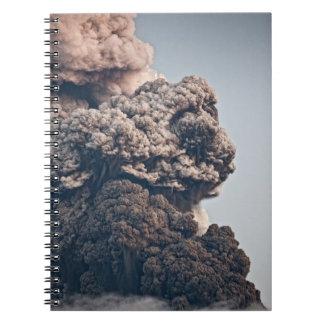 Eyjafjalljokull Volcanic Eruption Notebooks
