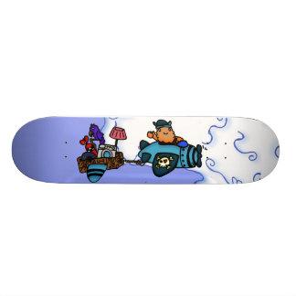 Eyjolf the Scrap Guy Skate Board