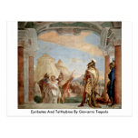 Eyribates And Talthybios By Giovanni Tiepolo Postcard