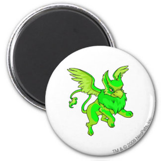 Eyrie Glowing 6 Cm Round Magnet