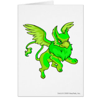 Eyrie Glowing Greeting Card