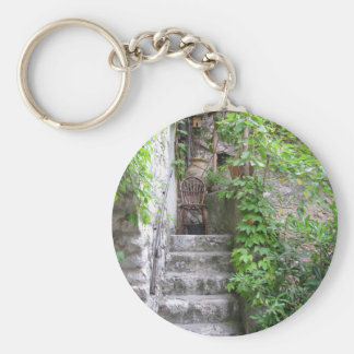 Eze - Medieval Village on the French Riviera Key Chain