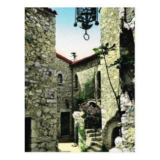 Eze village, Alpes Maritimes Postcard