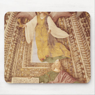 Ezekiel and Angel holding chalice of the Mouse Mat