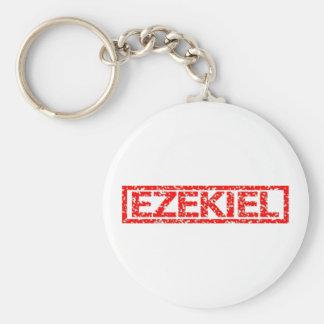 Ezekiel Stamp Basic Round Button Key Ring