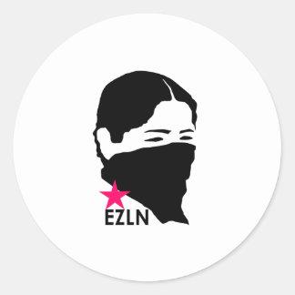 EZLN ROUND STICKER