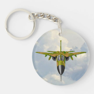 F111 IN YOUR FACE Single-Sided ROUND ACRYLIC KEY RING