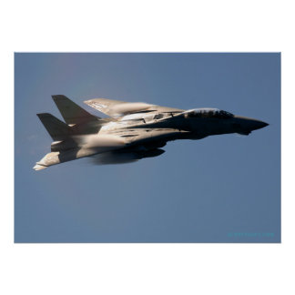 F14 Over the Mediterranean Posters