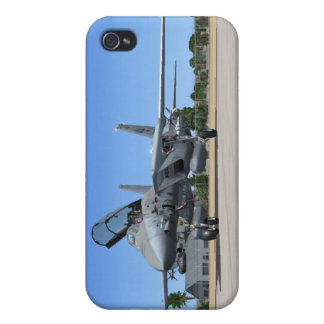 F14 Tomcat Jet Fighter iPhone 4 Covers