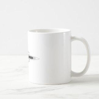 F14 Tomcat - Top Basic White Mug