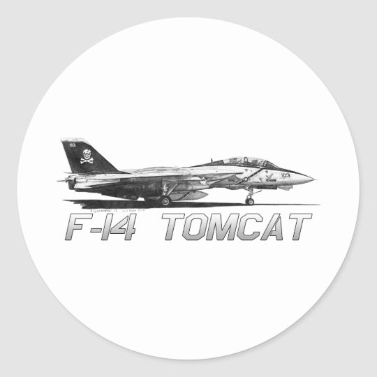 F14 Tomcat VF-103 Jolly Rogers - drawing Classic