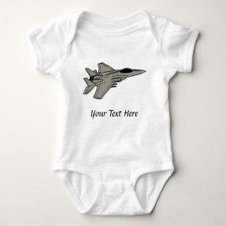 F15 Fighter Design Baby Bodysuit