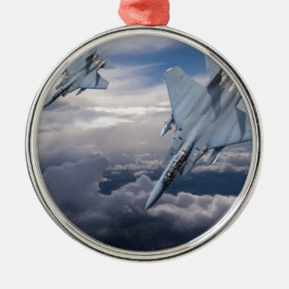 F15 Pair Diving Christmas Ornament