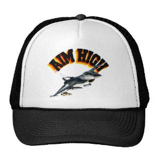 F16 AIM HIGH TRUCKER HAT