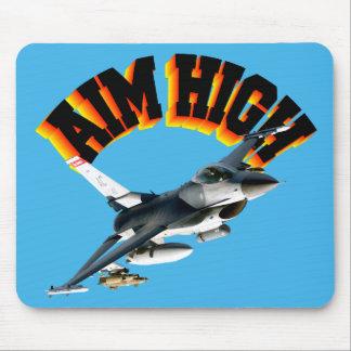 F16 AIM HIGH MOUSE PAD