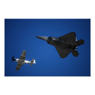 F16 and Mustang Posters