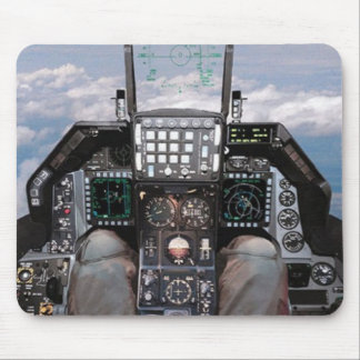 f16 cockpit mouse mat