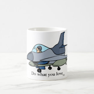 F16, Do what you love, TM Coffee Mug