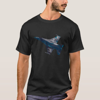 F16 Falcon blue camo T-Shirt