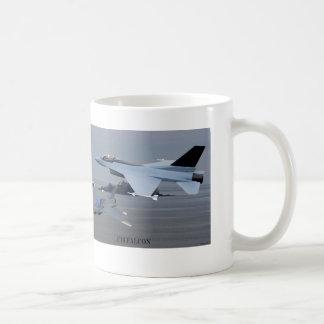 F16 Falcon Basic White Mug