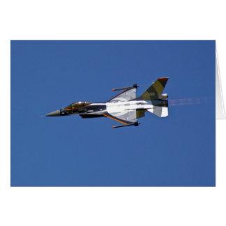 F16 Fighting Falcon Card