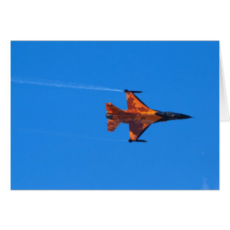 F16 Fighting Falcon Card