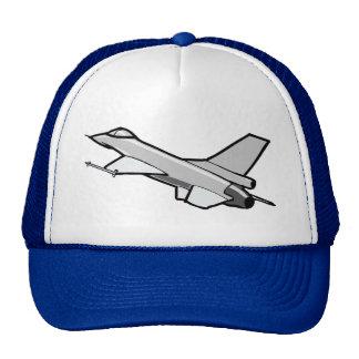 F16 Fighting Falcon Design Mesh Hats