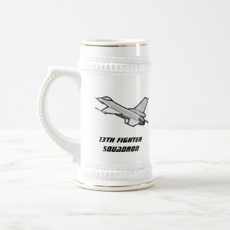 F16 Fighting Falcon Fighter Jet In Flight Mugs
