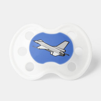 F16 Fighting Falcon Fighter Jet In Flight Pacifiers