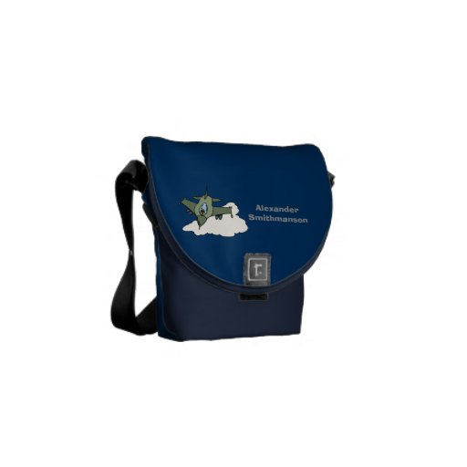 F16 Fighting Falcon Fighter Jet Messenger Bags