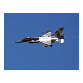 F16 Fighting Falcon Postcard