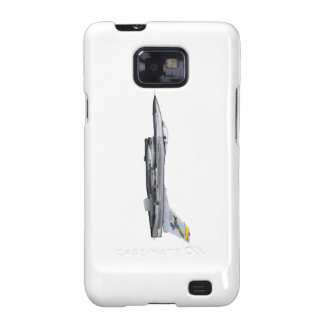 F16 Jet Fighter plane of the USAF Phone Case Samsung Galaxy S2 Covers