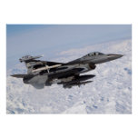 F16 on Northern Watch Poster