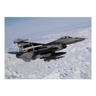 F16 on Northern Watch Posters