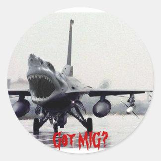 F16 Shark Sticker