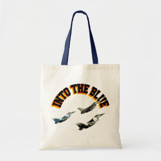 F16s INTO THE BLUE Tote Bag